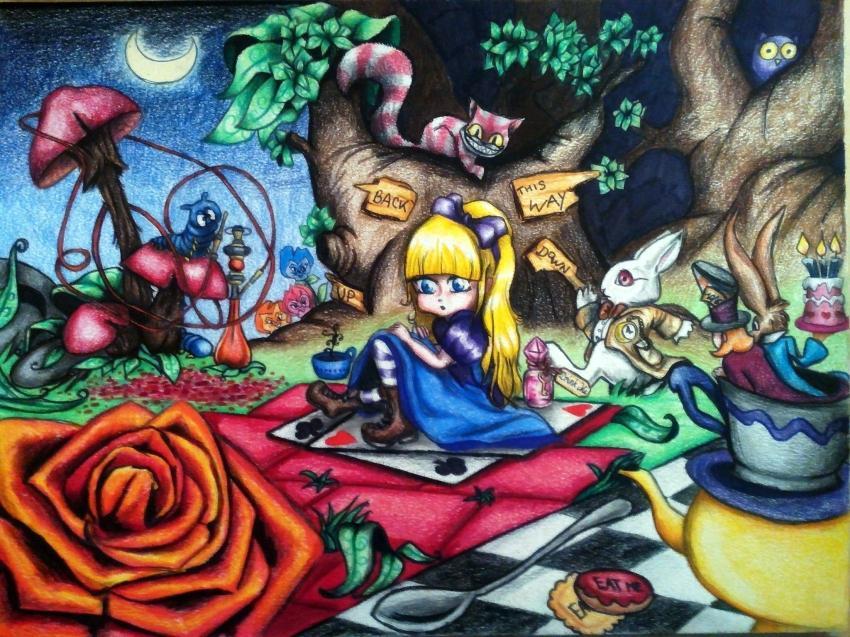 Alice In Wonderland by Jodylinn